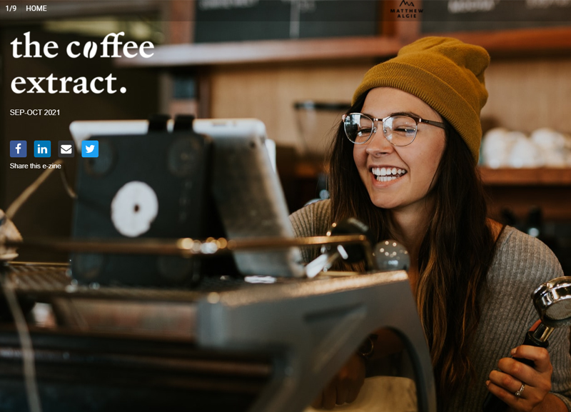 The Coffee Extract ezine oct 2021
